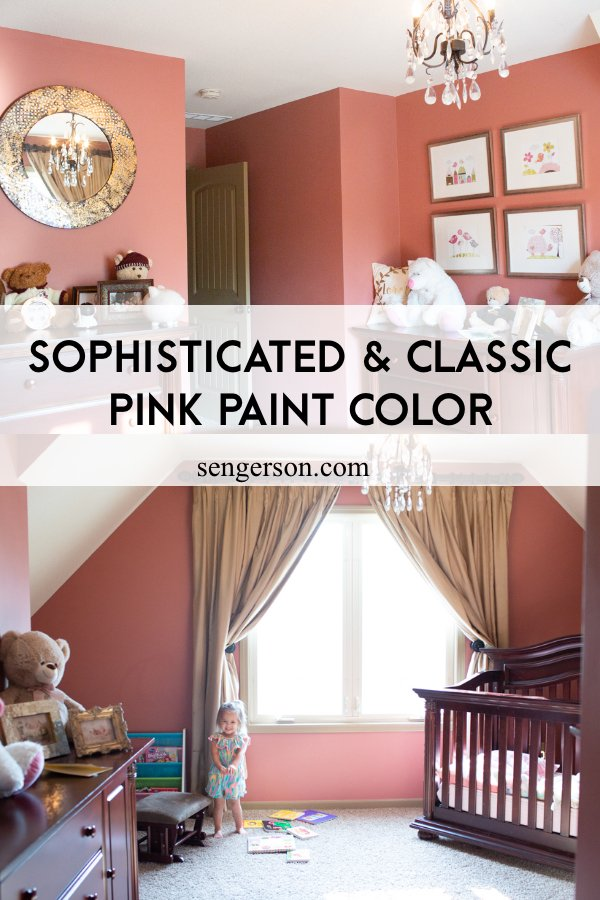 Sophisticated Pink Paint Colors Porphyry Pink by Farrow and Ball