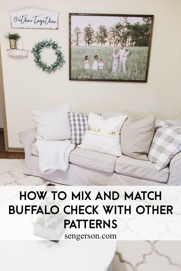 Cozy Buffalo Check Decor All Year Round Not Just Christmas