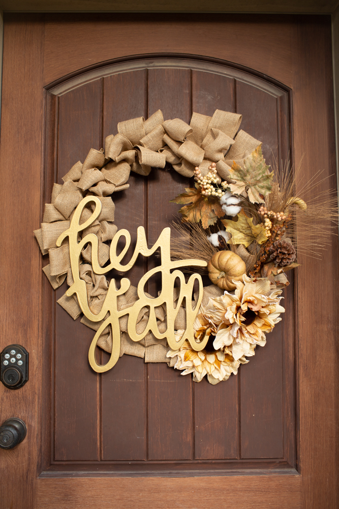 Easy Fall Harvest Wreath Tutorial Under 30 And Under 30