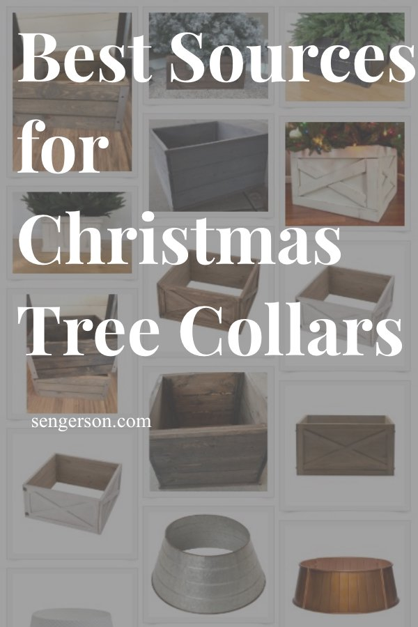 christmas tree collars
