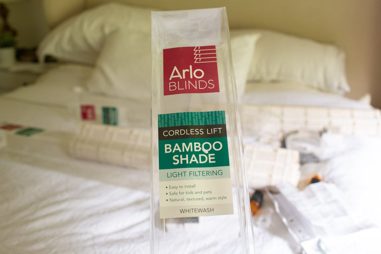 affordable whitewash bamboo natural shades - roman shades inexpensive from amazon