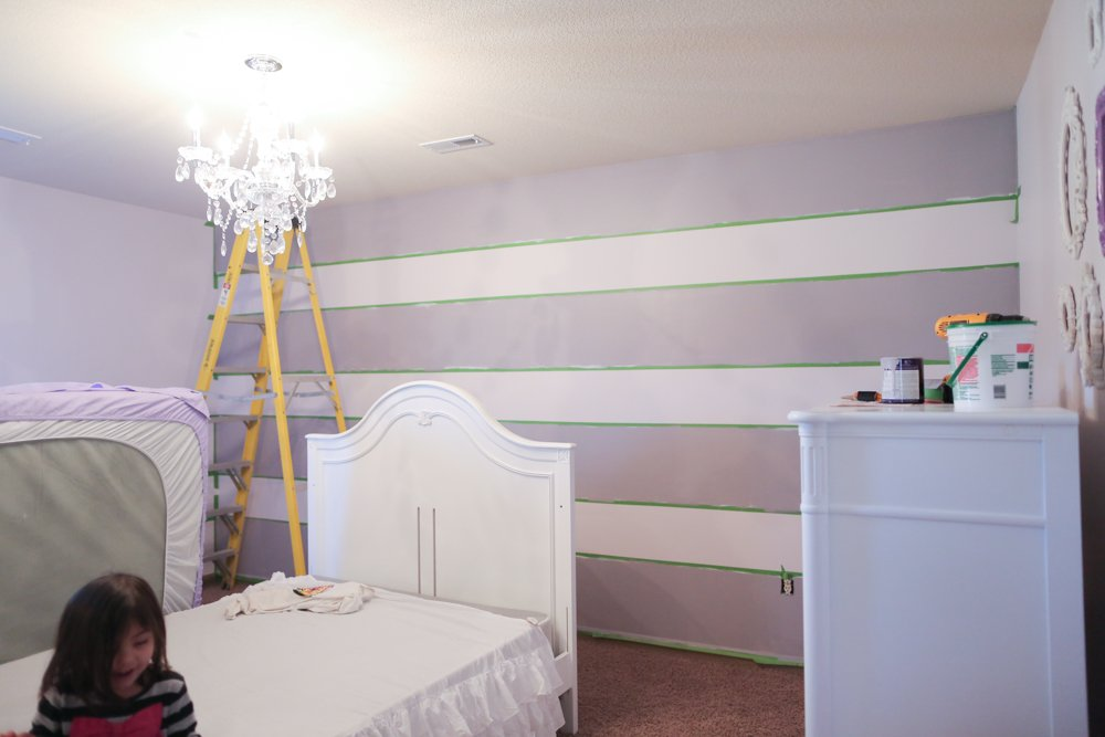 benjamin moore antique pearl alternating lines