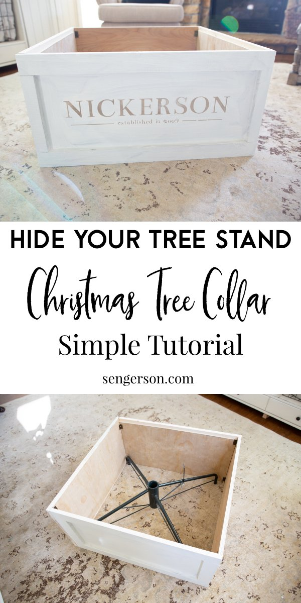 How To Make A Christmas Tree Collar Step By Step With Pictures