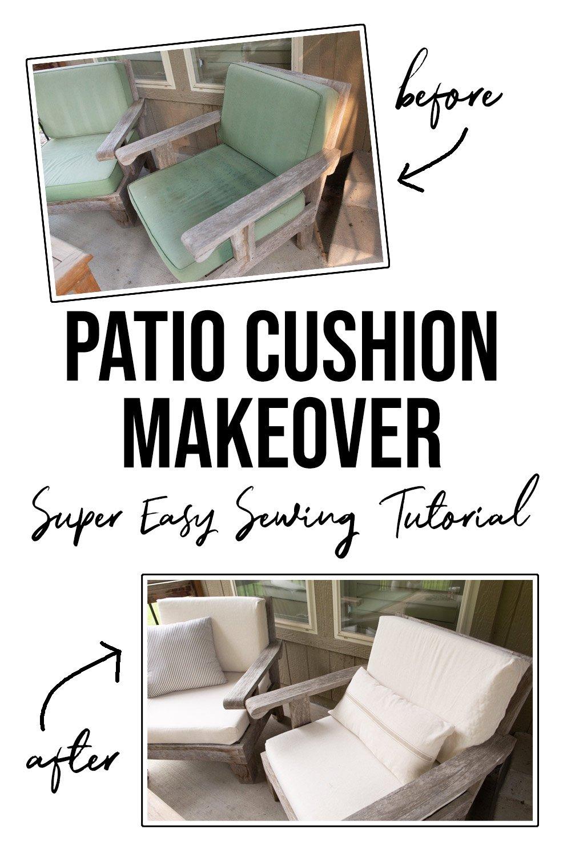 Patio cushion covers