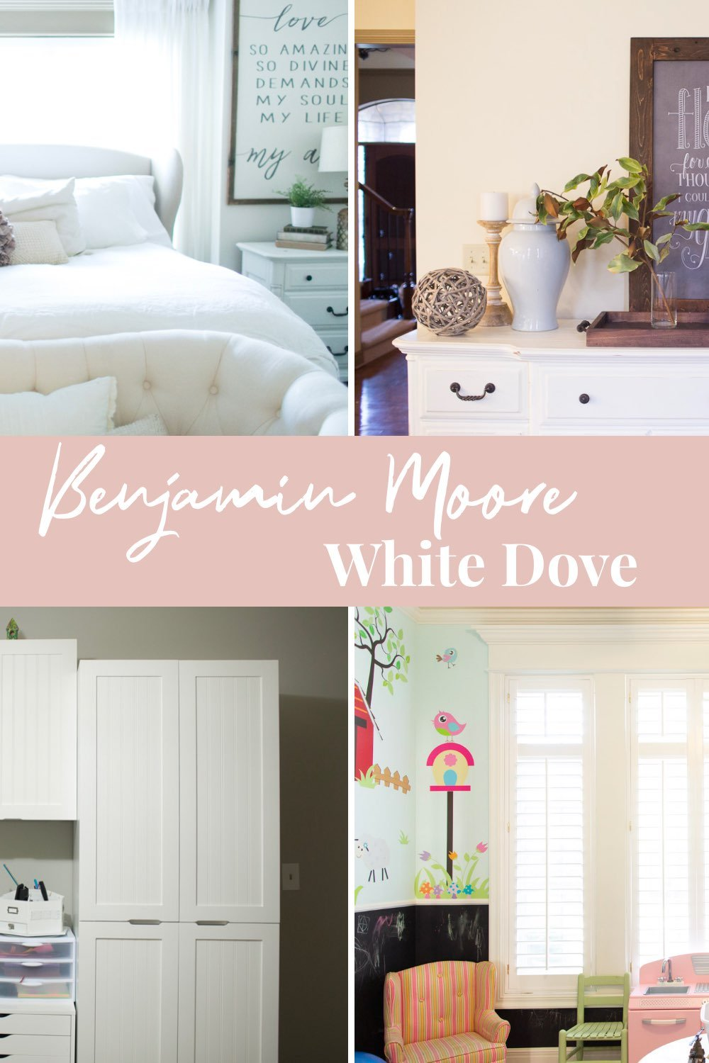 versatility of benjamin moore white paint