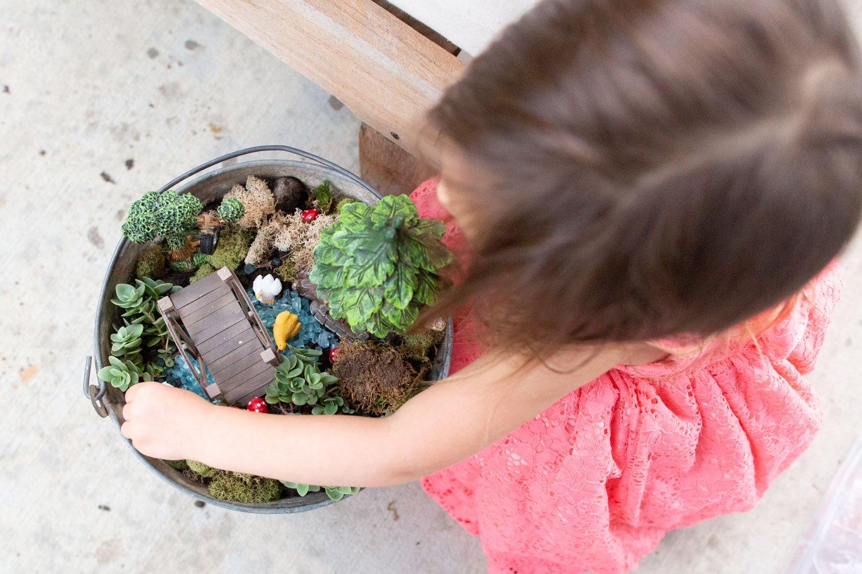 how to make an outdoor fairy garden
