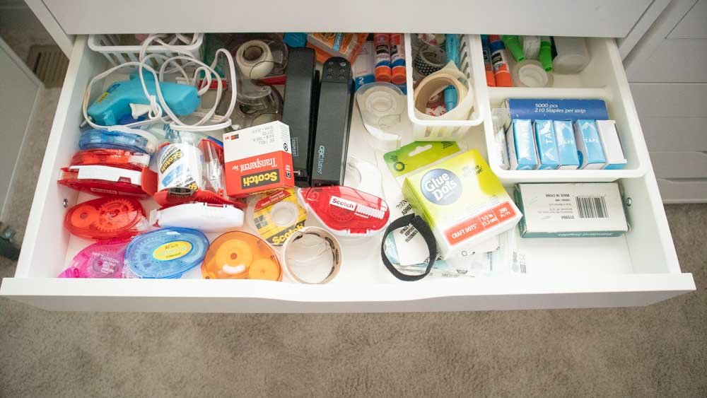 Drawer Dividers for Ikea Alex Cabinets