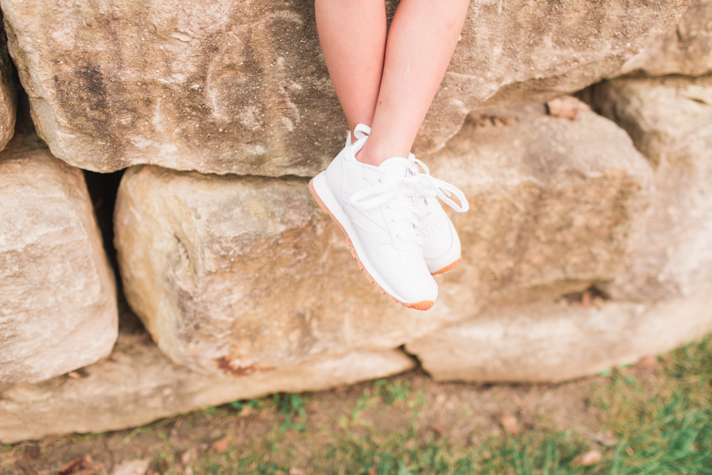 Mommy and Me Outfits: Dress with Sneakers