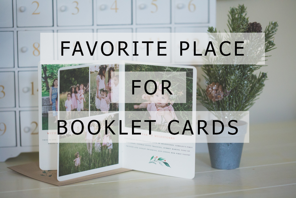 My FAVORITE Place to Buy Booklet Christmas Cards