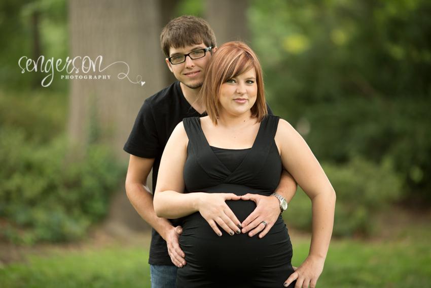 Maternity Session // Loose Park - Kansas City // Sengerson Photography