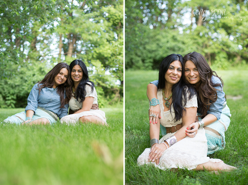 mother daughter portrait session for mother's day - sengerson.com