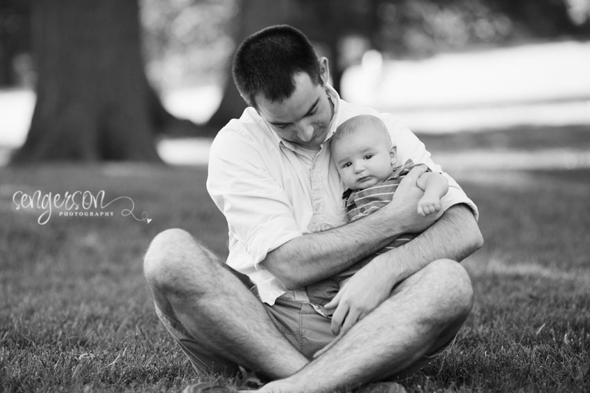 Family Session // Loose Park - Kansas City Photographer - Sengerson Photography