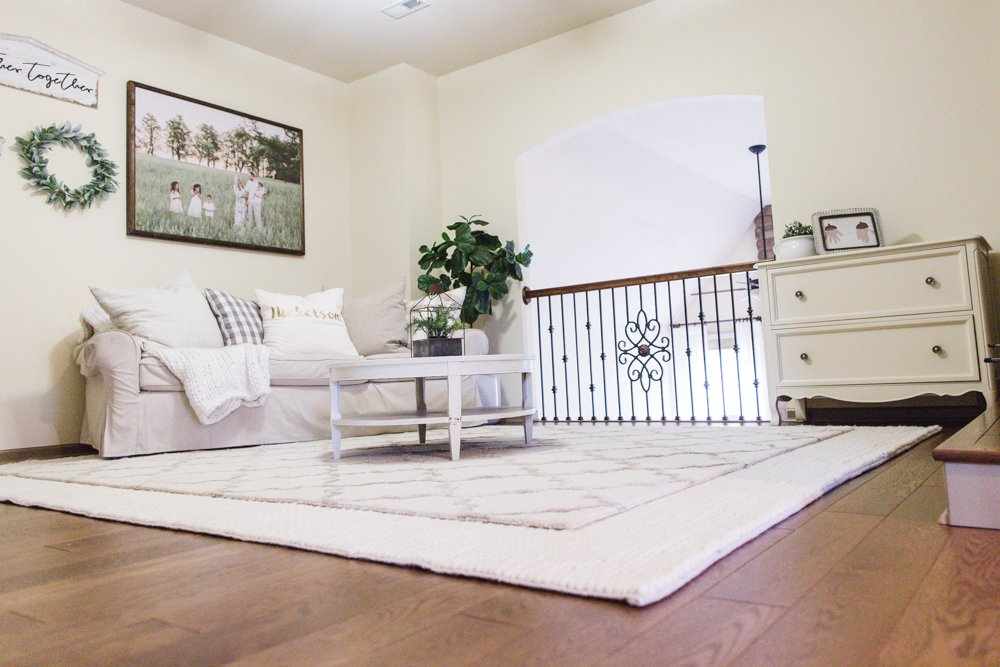 Family Loft Room Reveal | Farmhouse Style