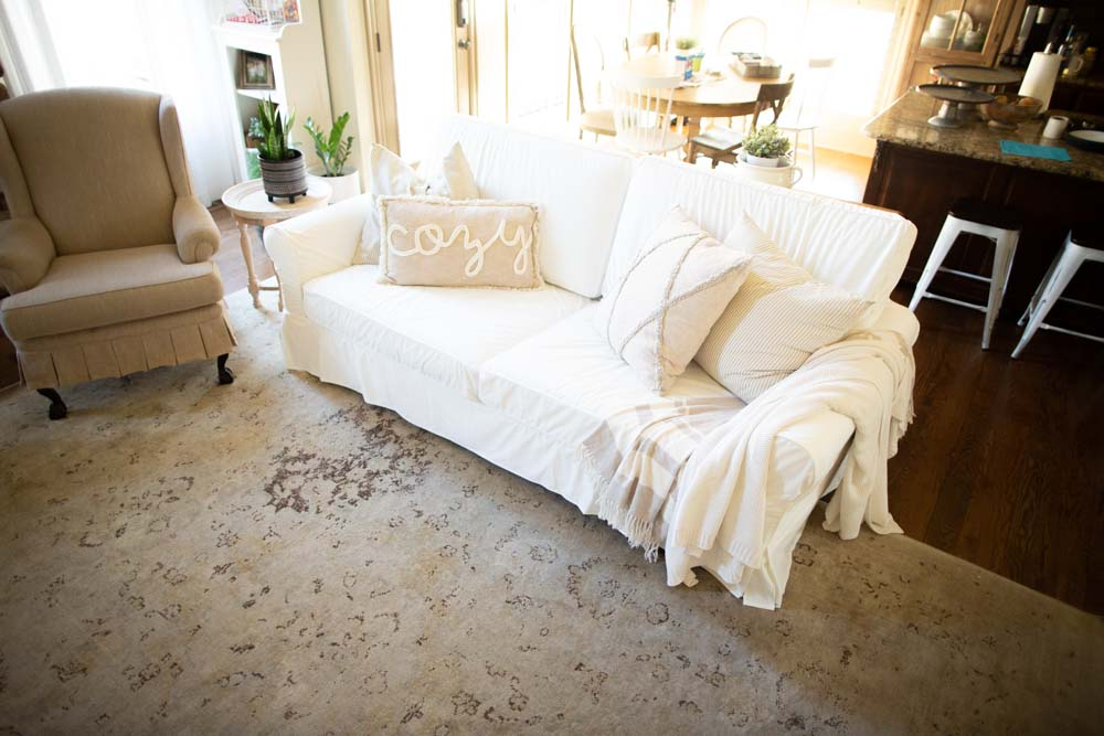 Pottery Barn Slipcover Knockoff Review (My Secret Place for Affordable Slipvoers)