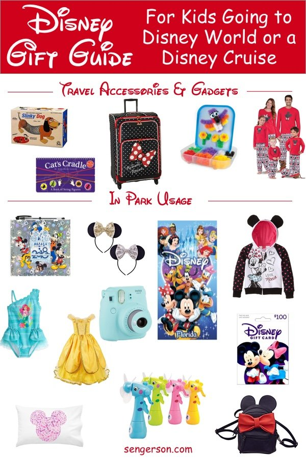 Gifts for Disney Trip for Families going to Disney World or a Disney Cruise