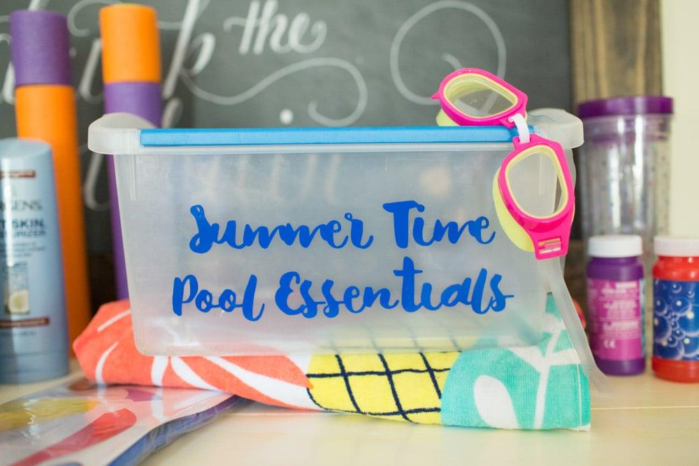 Summertime Pool Essentials