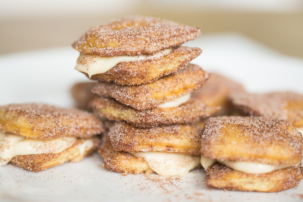 Easy Semi-Homemade Churro Sandwiches