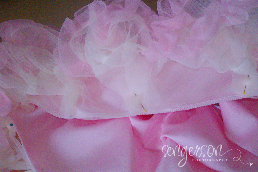DIY Tutu and Petti Skirt Chiffon