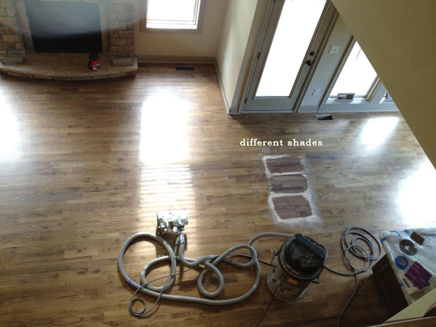 hardwood floors, staining, missouri