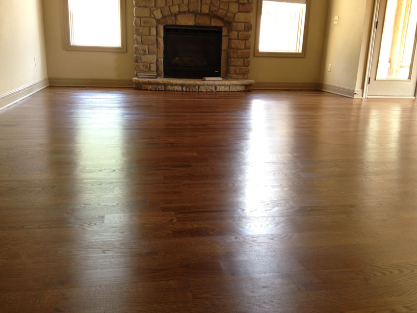 hardwood floors, staining