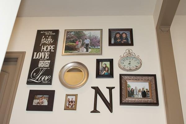 wall collage DIY wall art