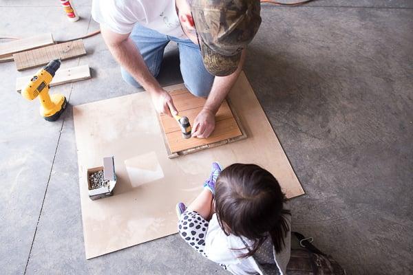 DIY Rustic Woodland Boy Nursery Decor and Wall Art