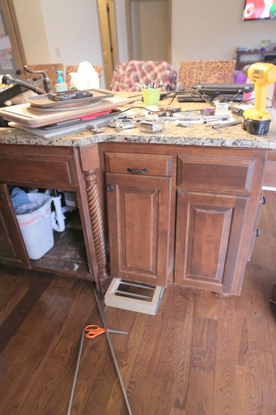 pullout trash can diy under sink projectunder sink recycling bin