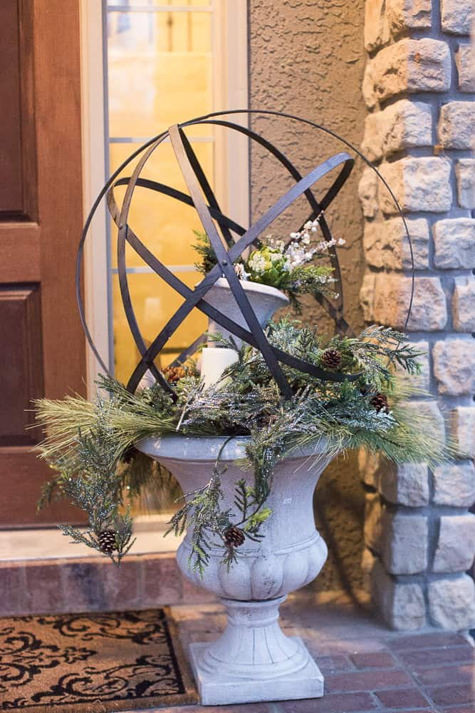 christmas foyer decor03