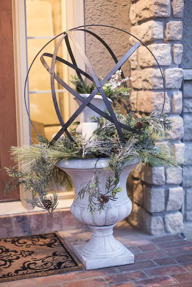 christmas foyer decor06