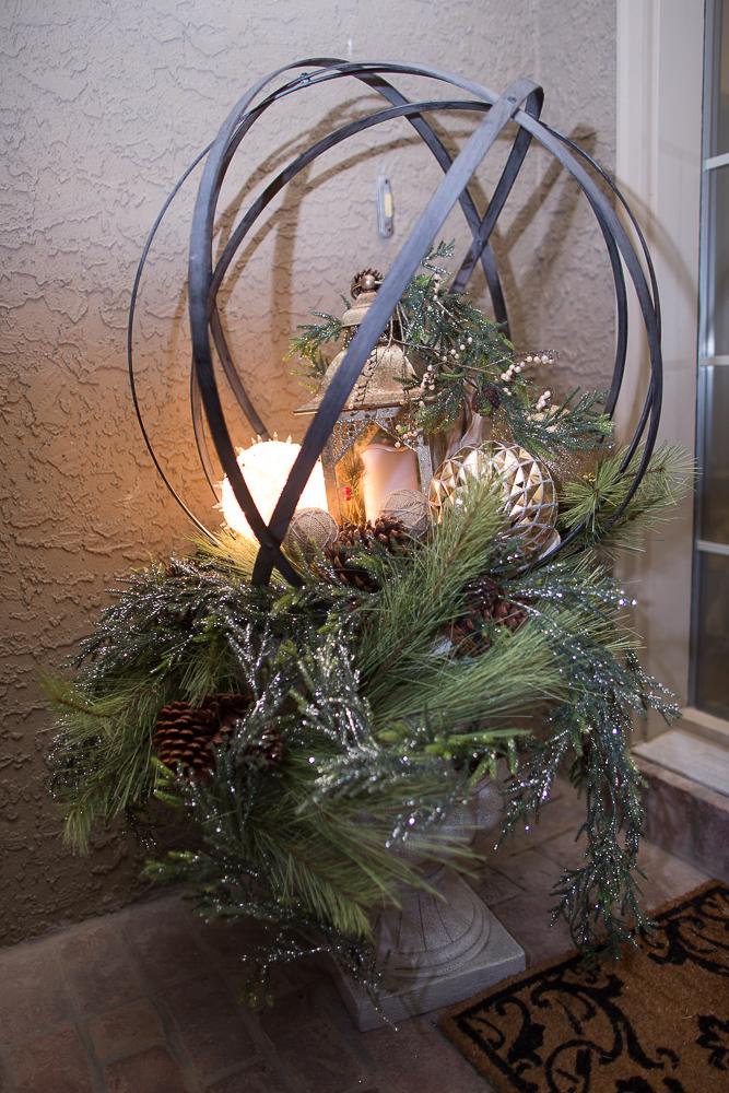 christmas foyer decor11