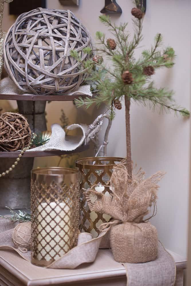 christmas foyer decor33