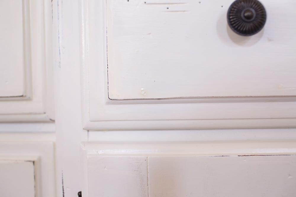 diy dresser into buffet 0026