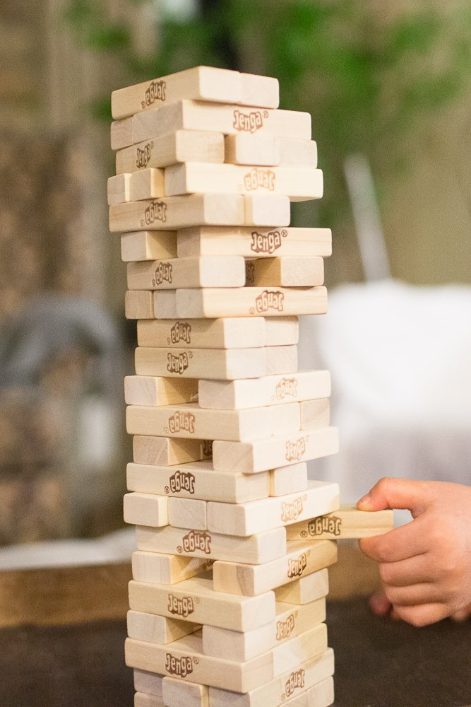 jenga with a twist with kids and sight words sengerson 0021