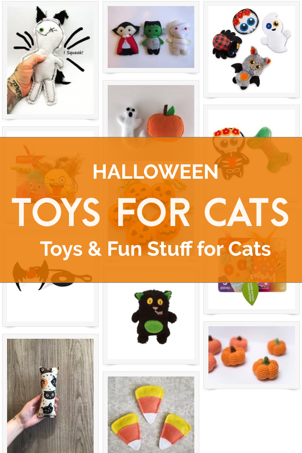 halloween toys for cats