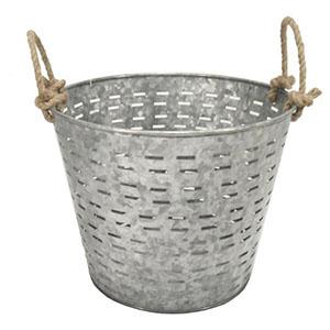 garden basket galvanized