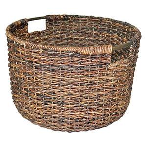 farmhouse wicker basket