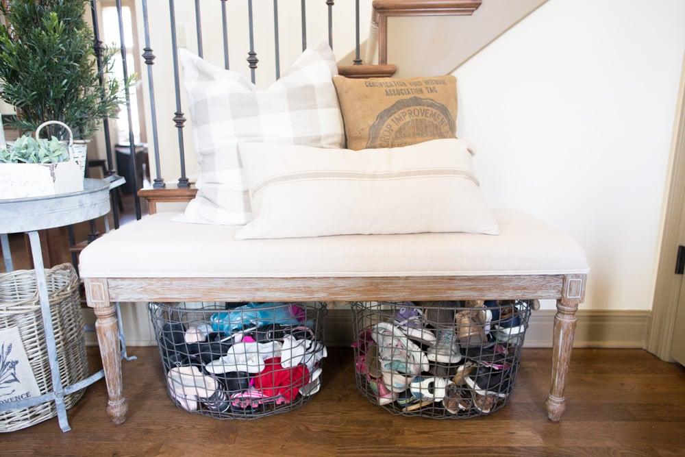 grain sack pillows for fall