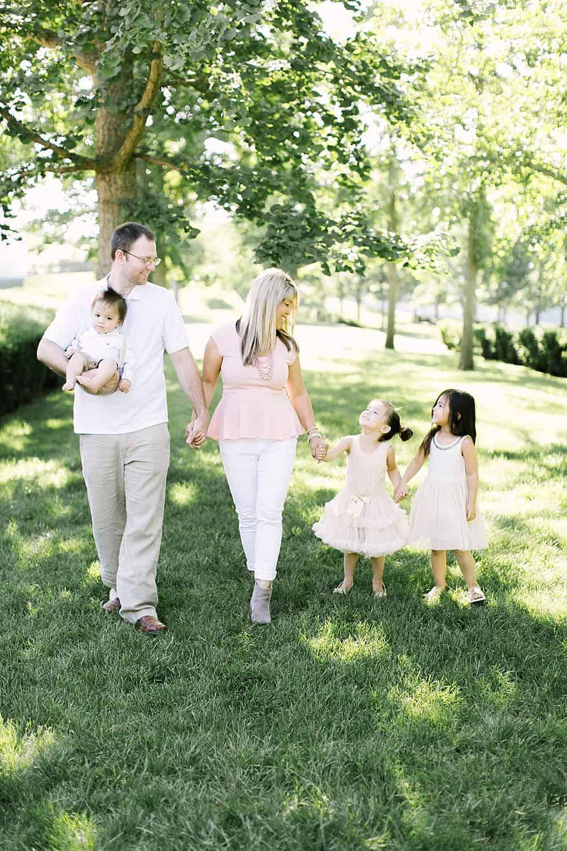 having 4 kids going from 3 or 4 children