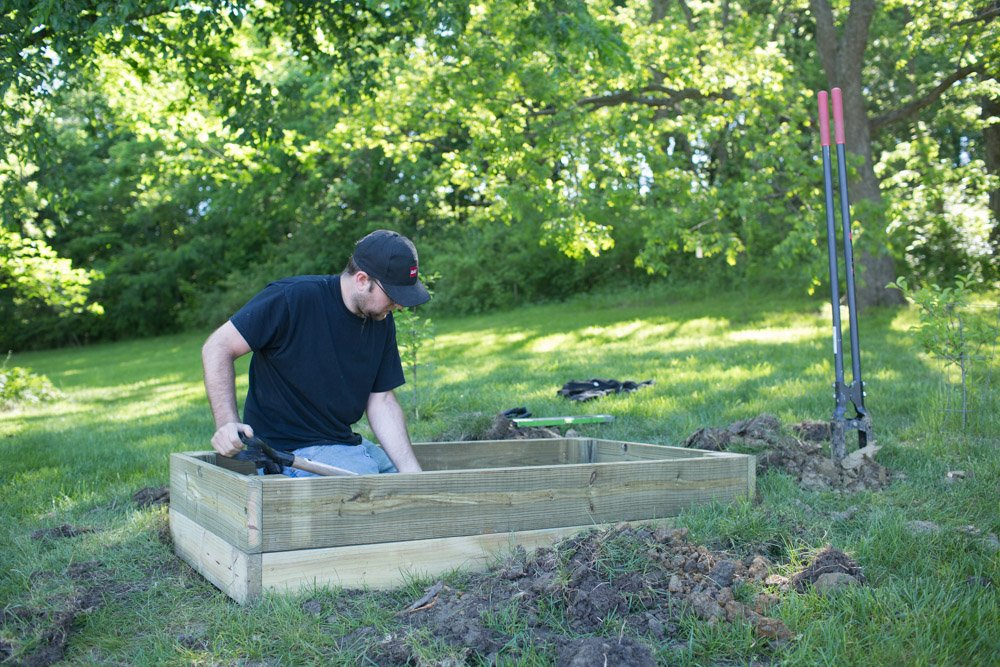 diy garden box idea