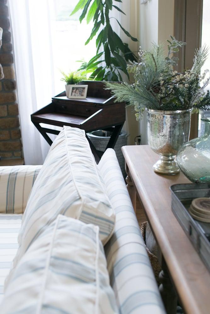 custom made slipcovers for box type cushions