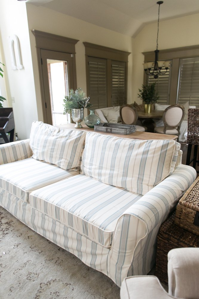 three cushion couch covers
