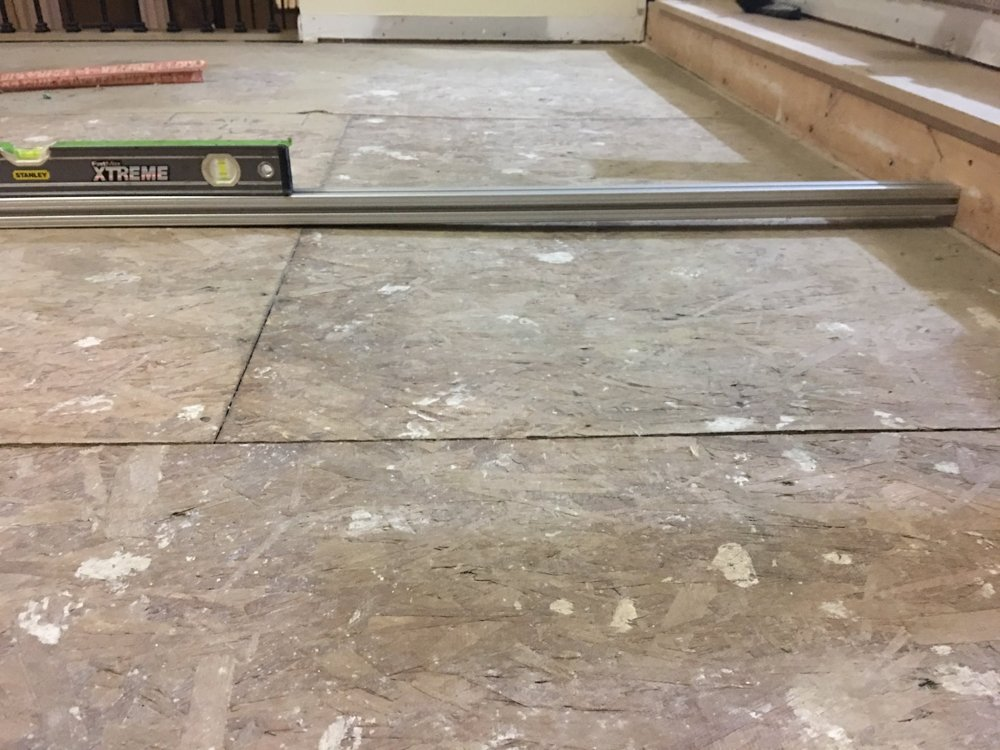 how hard it is to install hardwoods yourself leveling the subfloor