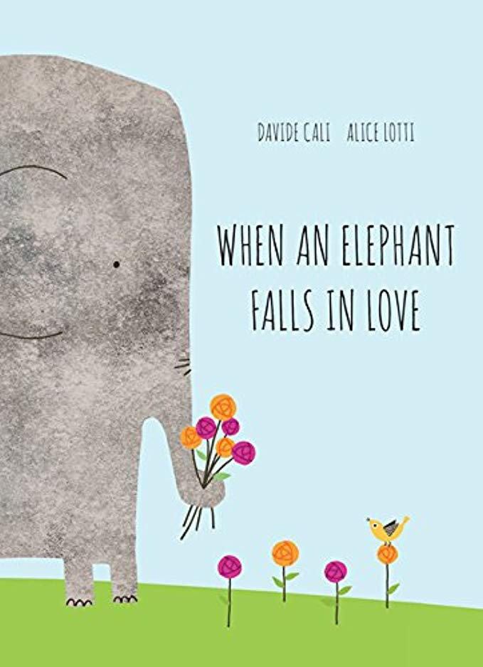 valentines day gifts for kids - when an elephant falls in love