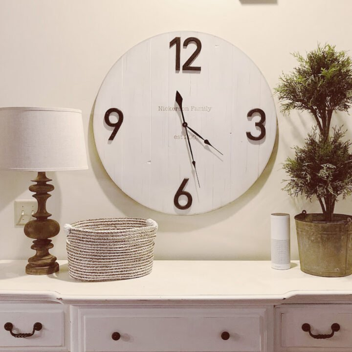How to Make a Wooden DIY Wall Clock