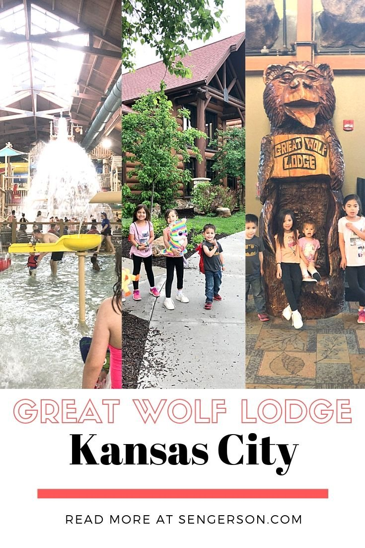 Kansas City KS Great Wolf Lodge review in Kansas City KS with a mom of six who did a day pass!