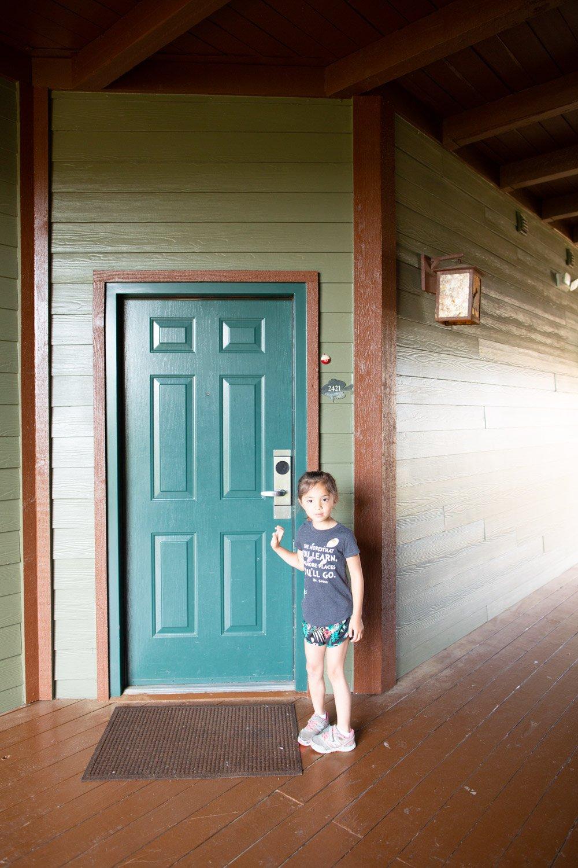 Big Cedar Lodge Wilderness Club studio door