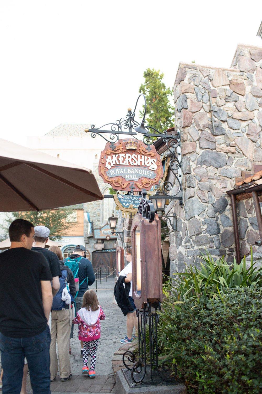 Disney restaurant review at Akershus Door Photo