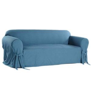 light blue duck sofa slipcover