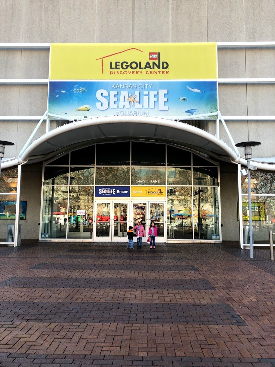 legoland and sealife - things to do in kansas city with kids