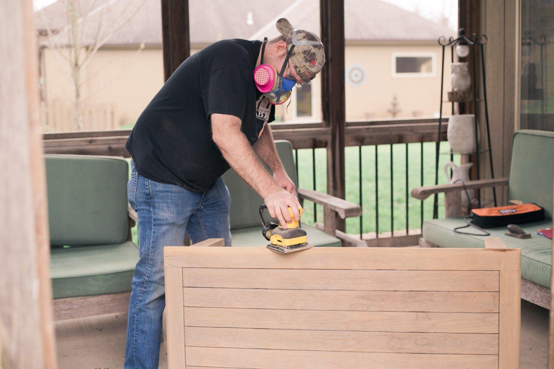 restoring teak furniture, teak patio set